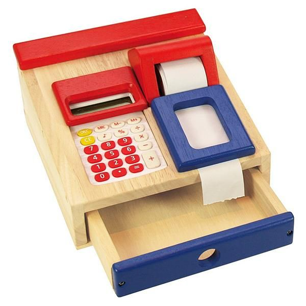 Cash Register Box with Calculator