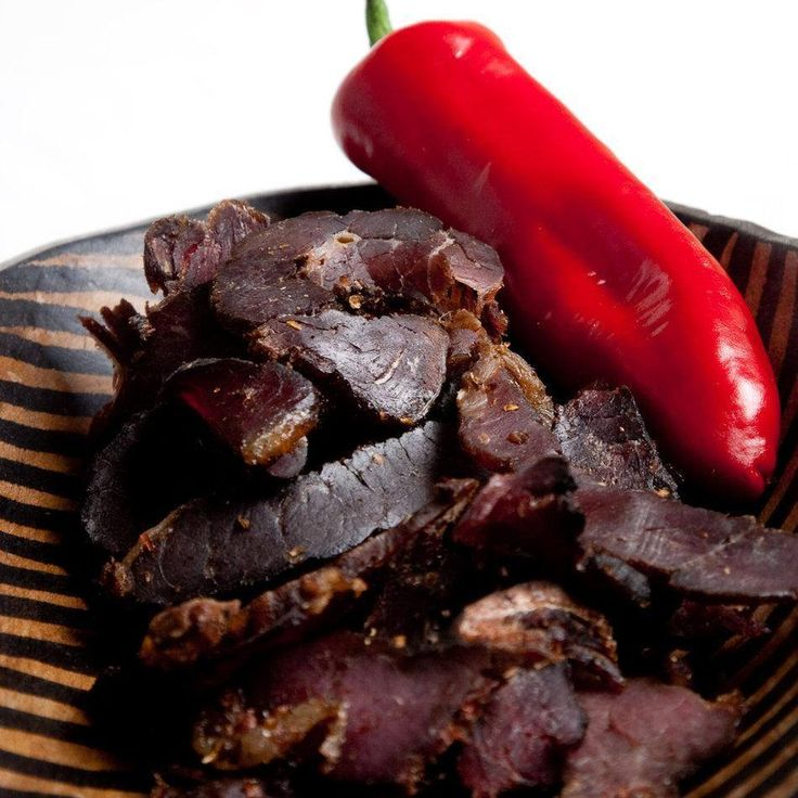 Perfect biltong made by yourself!