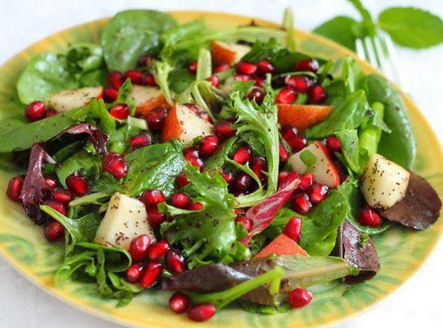 Δροσερή σαλάτα με ρόδι - Food | Ladylike.gr