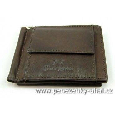 Dolarka - stylová peněženka vyrobená z masivní kůže.