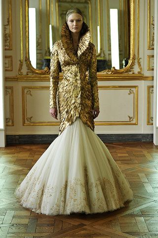 This IS my favorite!! I WILL own this dress!!!!!! There will never be another one like him! R.I.P. Alexander McQueen!