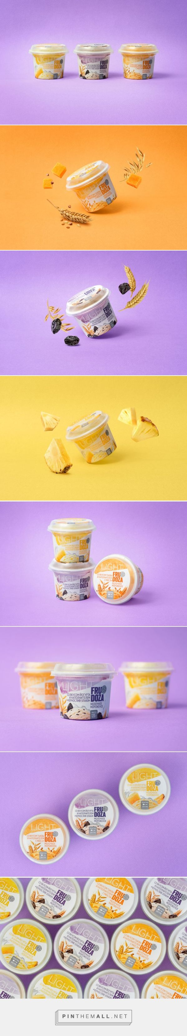 FRUDOZA Light Ice Cream -  Packaging of the World - Creative Package Design Gallery - http://www.packagingoftheworld.com/2017/08/frudoza-light-ice-cream.html