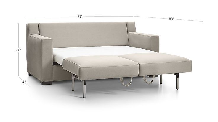 Shop Axis II Queen Ultra Memory Foam Sleeper Sofa. The queen-size sleeper features a memory foam mattress, layered to provide comfort and support whether sitting or lying down.