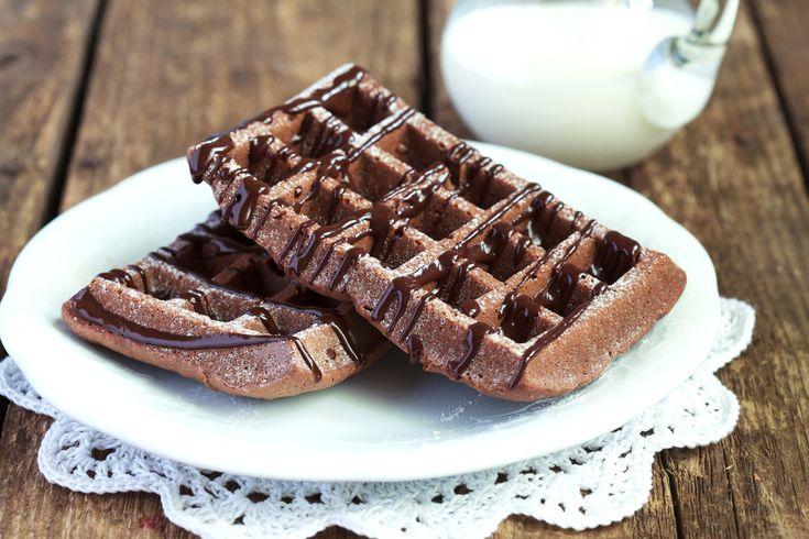 A legegyszerűbb csokoládés gofri Recept képpel - Mindmegette.hu - Receptek