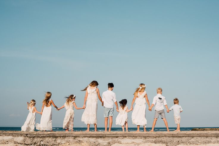 Family Photo  girls wearing Tea Princess Dresses Family photo ideas