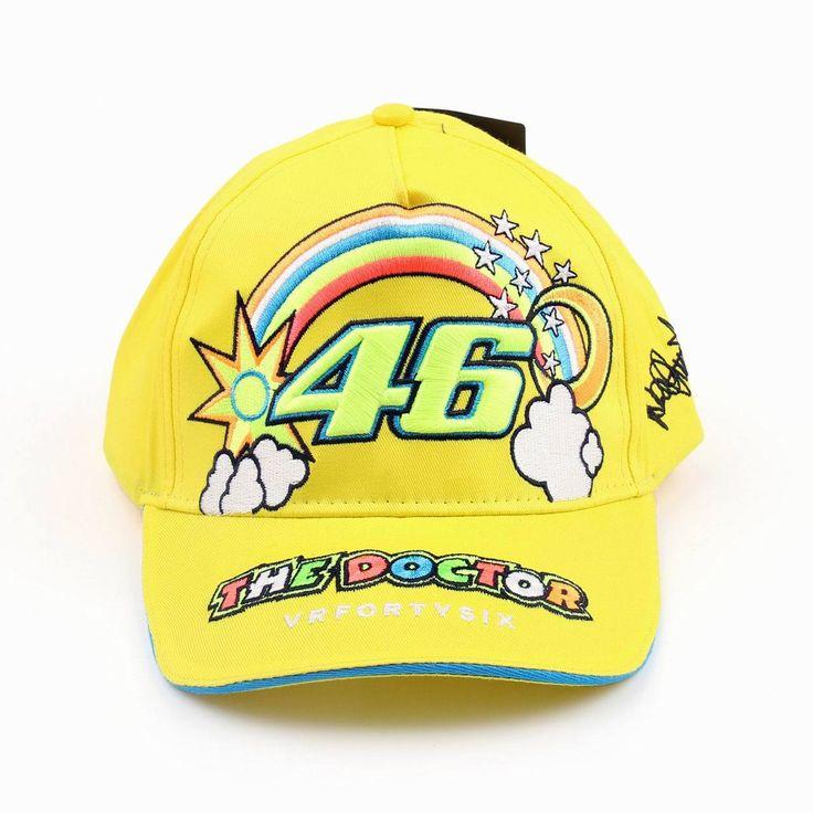 Mad Hornets - Fashion Racing Moto MotoGP Valentino Rossi 46 Baseball Hat Peaked Cap, 1009, $23.99 (http://www.madhornets.com/fashion-racing-moto-motogp-valentino-rossi-46-baseball-hat-peaked-cap-1009/)