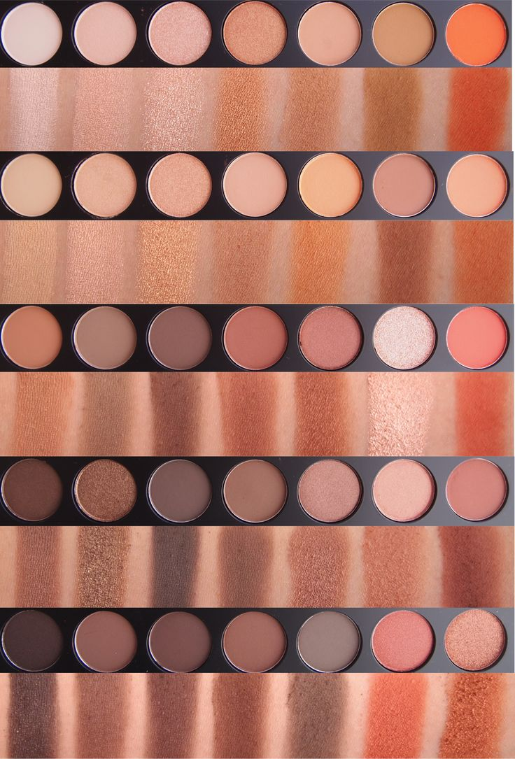 Morphe Brushes Jacyln Hill Favorites Palette and 35O Palette (Swatch Review)