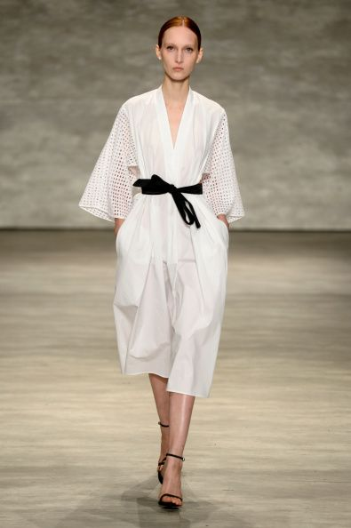 A Model Walks The Runway At The Tome Fashion Show During Mercedes Benz Fashion Week Spring 2015