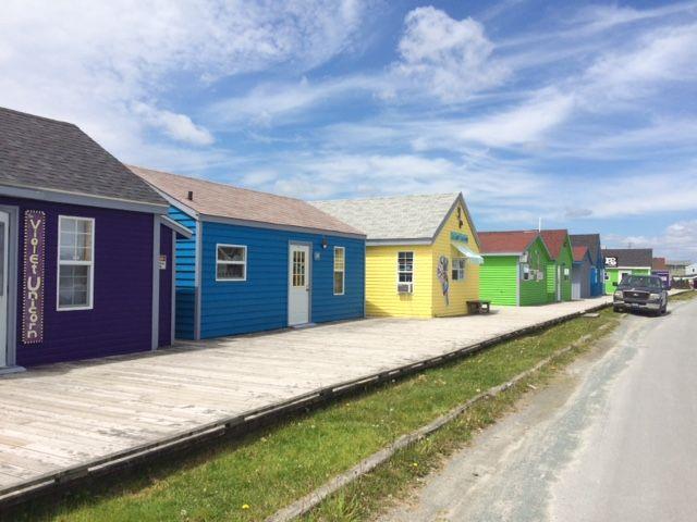 Fisherman's Cove, Eastern Passage, Nova Scotia The Violet Unicorn Shop and Studio. 2015