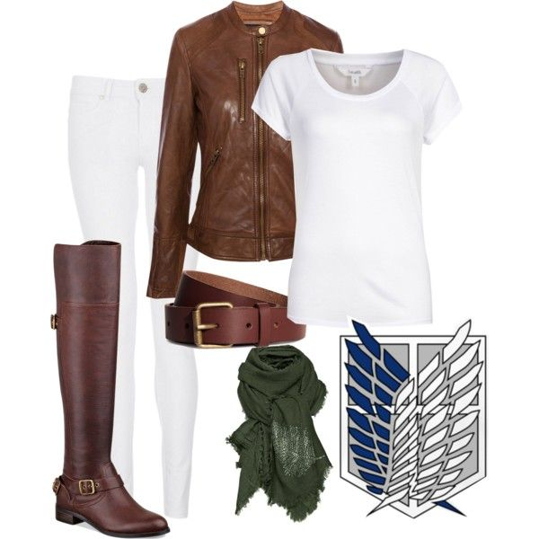 Attack on Titan Survey Corps casual cosplay.    Ignore the fact that this is inspired by something nerdy and just look at the brown. Wear the brown. Wear it Chantal