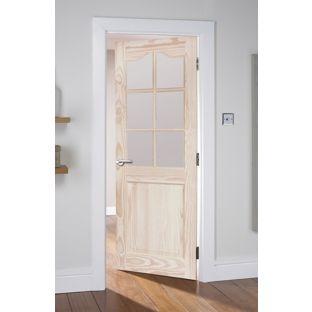 Windsor Clear Pine Glazed Internal Door - 30in from Homebase.co.uk  sc 1 st  Pinterest & 12 best Inner door images on Pinterest | Interior doors Indoor ...