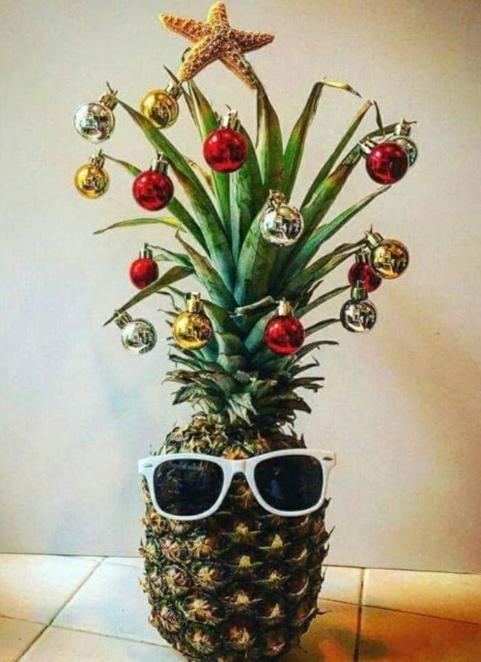 Petit Sapin De Noël Ananas