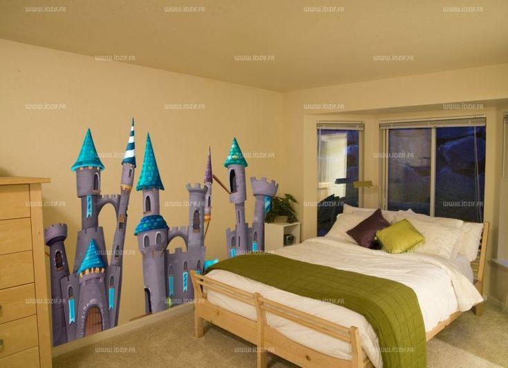 Résultat de recherche dimages pour stickers muraux thème chateau fort childrens bedroomdeco stickersfortsdecor