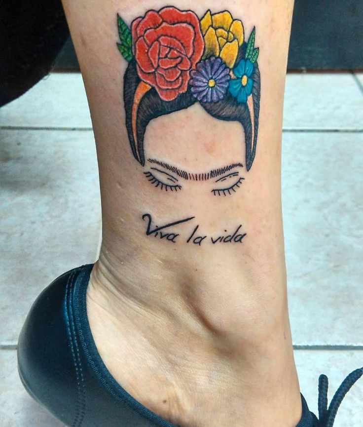 tatuaje frida khalo