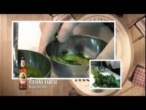 Viviana Varese - Filetto di Rombo con Pop Corn di Amaranto e Caramello alla Birra