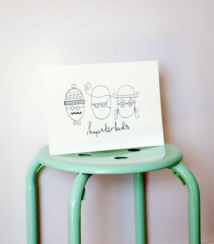 For those hipster kids. www.strekpoesi.no Illustration drawings strekpoesi kids