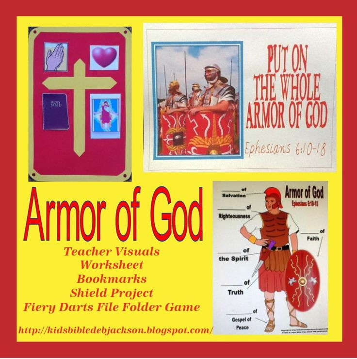 Bible Fun For Kids: The Whole Armor of God (Christian Soldier)