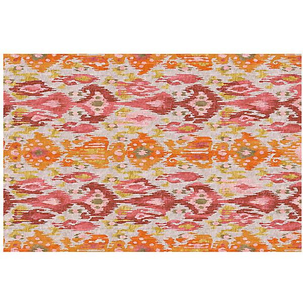 Yamma Rug Pastel Pink Area Rugs 1 278 Liked On Polyvore Featuring Home
