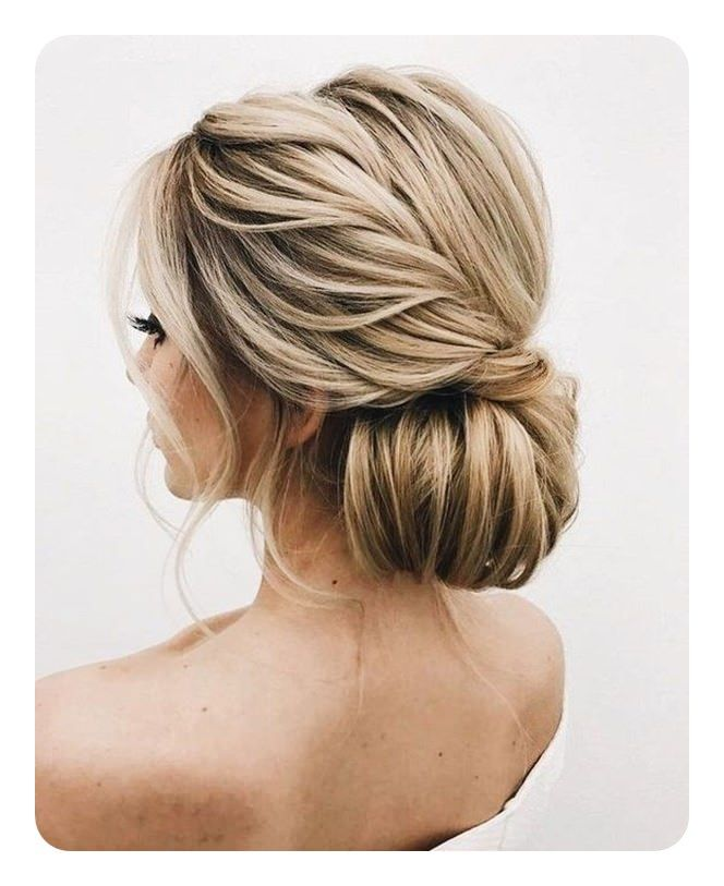 Step By Step Wedding Hairstyles: 87 Easy Low Bun Hairstyles And Their Step By Step