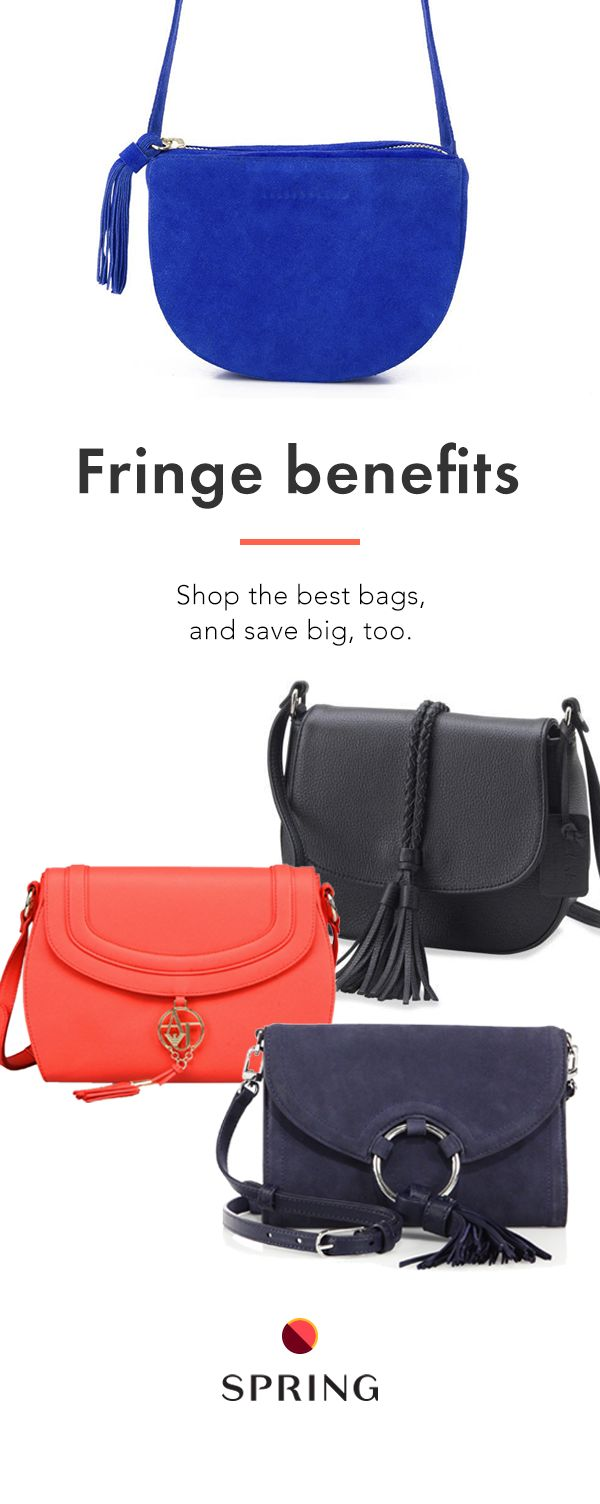 So many purses on sale, it's hard to pick just one. Spring has over 1,250 brands so you can always the perfect bag at a perfect-for-your-wallet price. Plus free shipping + free returns.