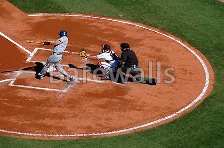 """Photographed major league baseball players at local game day. - Baseball posters and prints available at Barewalls.com"