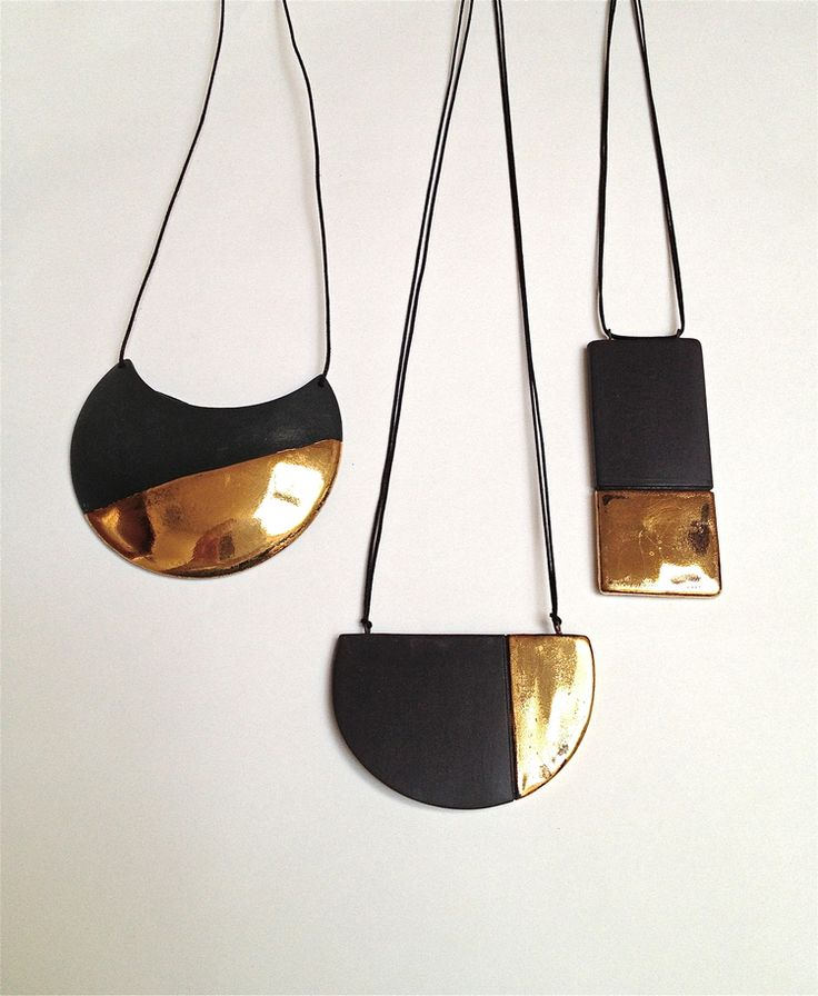 by Syra Gomez - GEO Collection Porcelain Jewelry