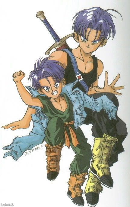 188 best images about Vegeta Bulma & Trunks on Pinterest ...