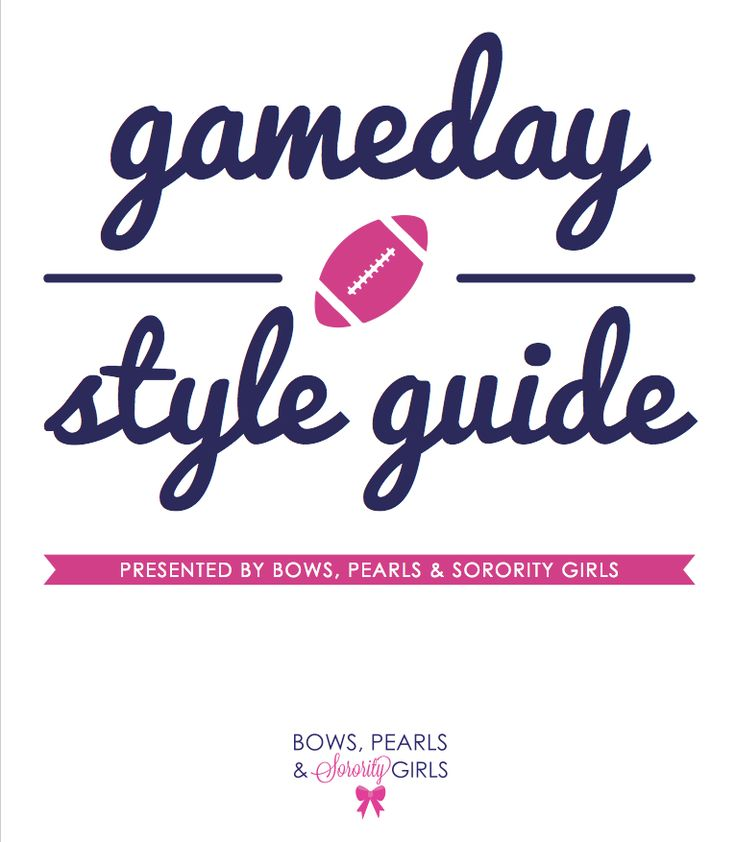 Ultime Gameday Style Guide is finally here!! | Bows, Pearls & Sorority Girls!