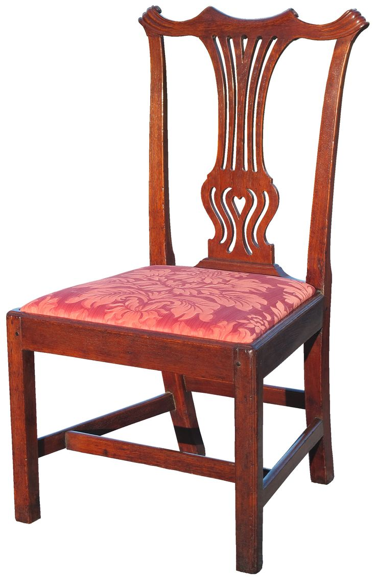 A Chippendale Walnut Side Chair probably made