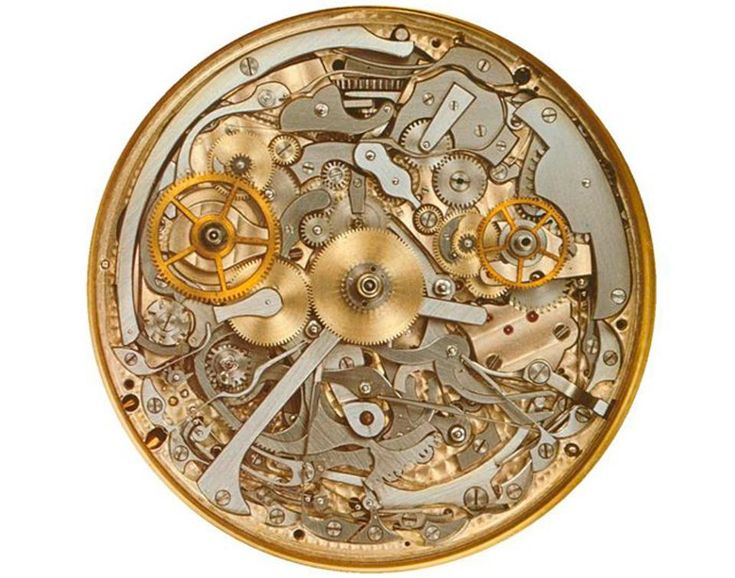 Looking at the now $24,000,000 Patek Philippe Supercomplication pocket watch that just made a new record price for the most expensive timepiece in the world at a Sotheby's auction.