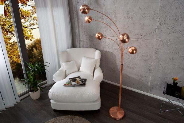 Lampa 5 Branchs Copper