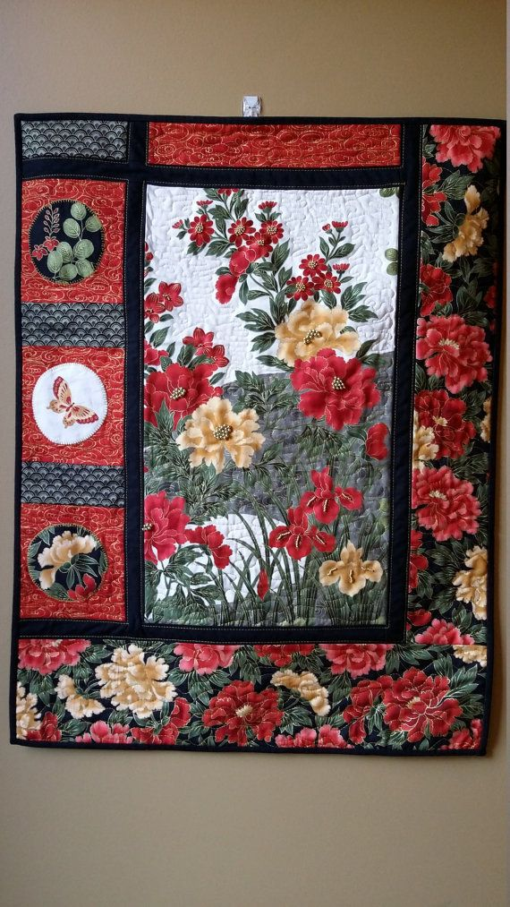 16 Best Images About Large Print Fabric Quilt Ideas On