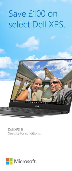 See how Dell XPS 13 helps globetrotters Anne & Mike run their business from around the world. Save £100 on select Dell XPS.