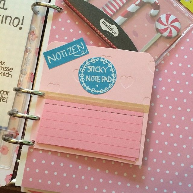 http://instagram.com/p/lfjxkxCuyP/?modal=true DIY Target one spot sticky notes