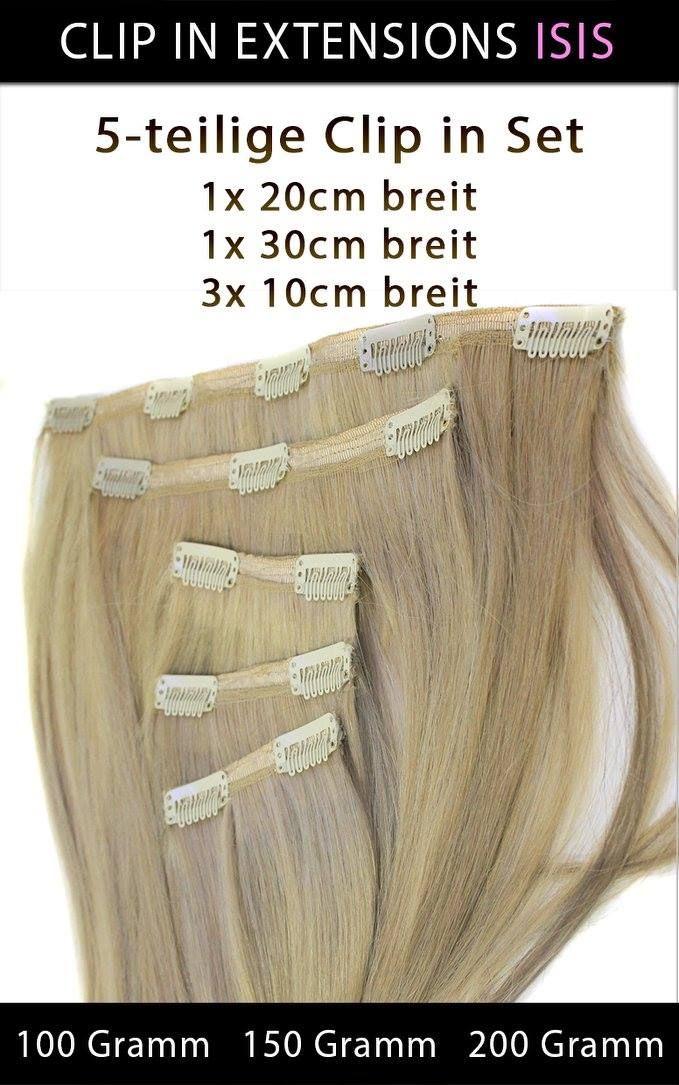 """#ECHTHAAR #CLIP_IN_EXTENSIONS MEGA SET """"ISIS""""   Somit können Sie sich eine lang gewünschte Haarverlängerung gönnen und haben im handumdreheneine Komplette Haarverlängerung mit Seitenpartien nur mit fünf Volumige Haarteilen.  5-teilige Echthaar Clip in Extensions Set 3x 10cm breit 1x 20cm breit  1x 30 cm breit"""