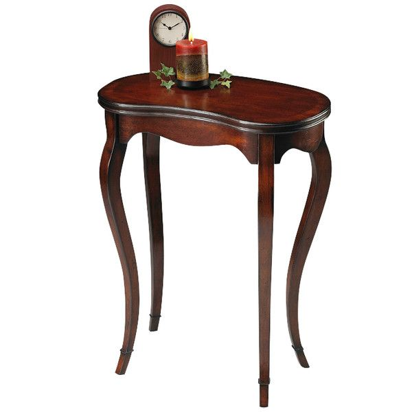 "Butler Plantation Cherry End Table - 27.25""H x 13""D x 22""W -"