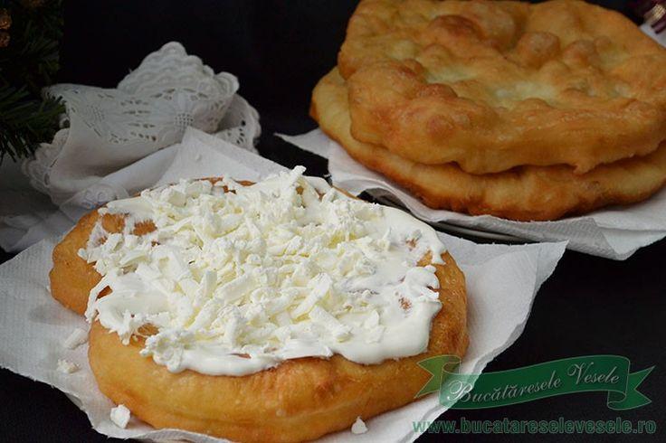 Reteta Langose cu cartofi- Krumplis Langos.Cum se prepara Langosele.Reteta de Langosi.