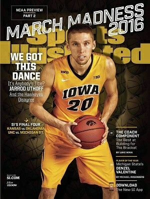 Iowa Hawkeyes Basketball, Sports Illustrated Cover