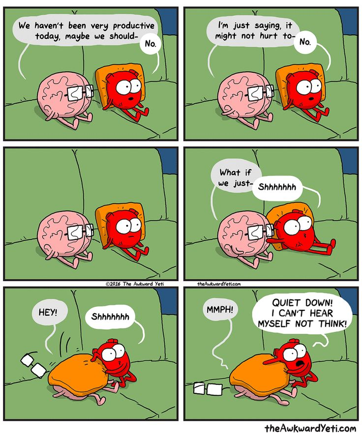 The Awkward Yeti by Nick Seluk for Feb 24, 2017 | Read Comic Strips at GoComics.com