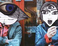 30 doodle project- june '13 by Grigoria Vryttia, via Behance