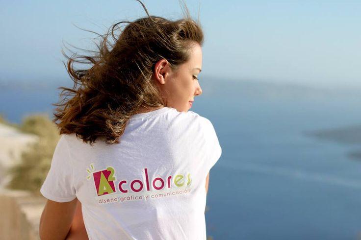 #happymoments en Santorini. La belleza del mar