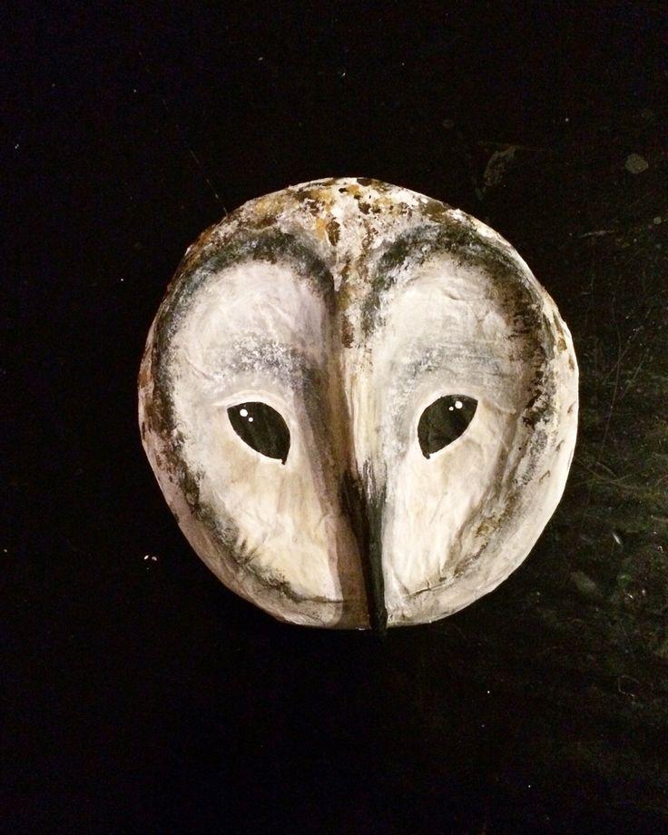 Owl paper mache made by susan meijerink for sale diy for Diy paper mache owl