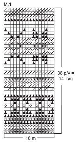 DROPS pulsvarmere med nordisk mønster i