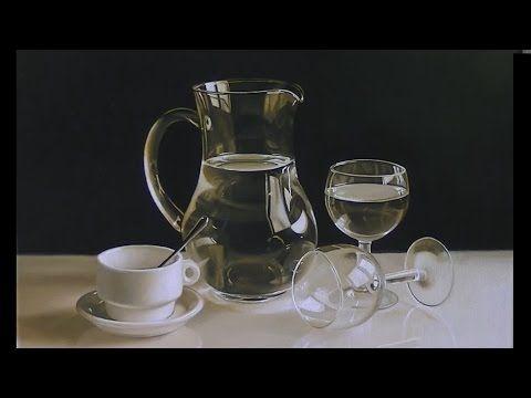 """Bodegón al óleo - """"Blanco y negro... y un color más"""".- nº 6 - YouTube"""