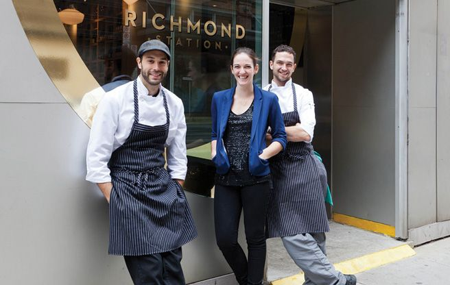 Introducing: Richmond Station, the new downtown restaurant from Top Chef Canada champ Carl Heinrich