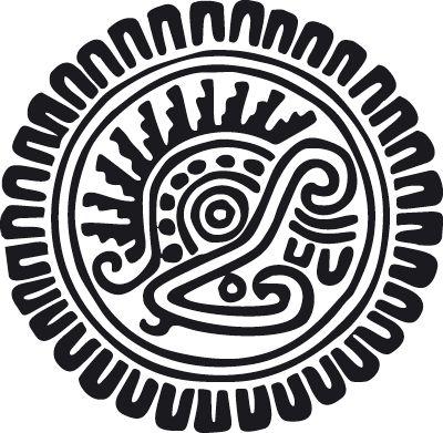 Aztec Symbol 3 | Ethnic wall stickers | Interior design-Garden furniture-designer online uk