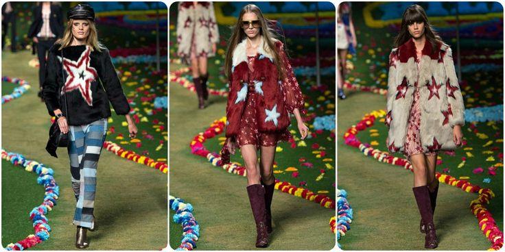 Faux fur fashion spring/summer 2015 - Tommy Hilfiger