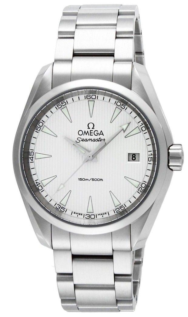 Omega men watches : OMEGA Men's Watch Seamaster Aqua Terra Silver Dial 150M waterproof 231.10.39.60.02.001