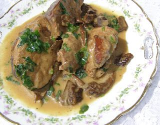 W Mojej Kuchni Lubię.. : cielęcina w sosie grzybowym...