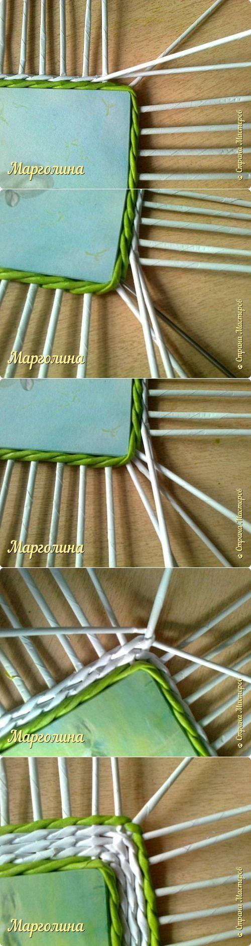szögletes alap sarok Небольшой МК прямоугольной крышки.Как ее делаю я. | Страна Мастеров